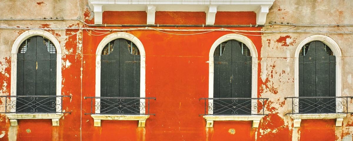 Venise - Fenêtres