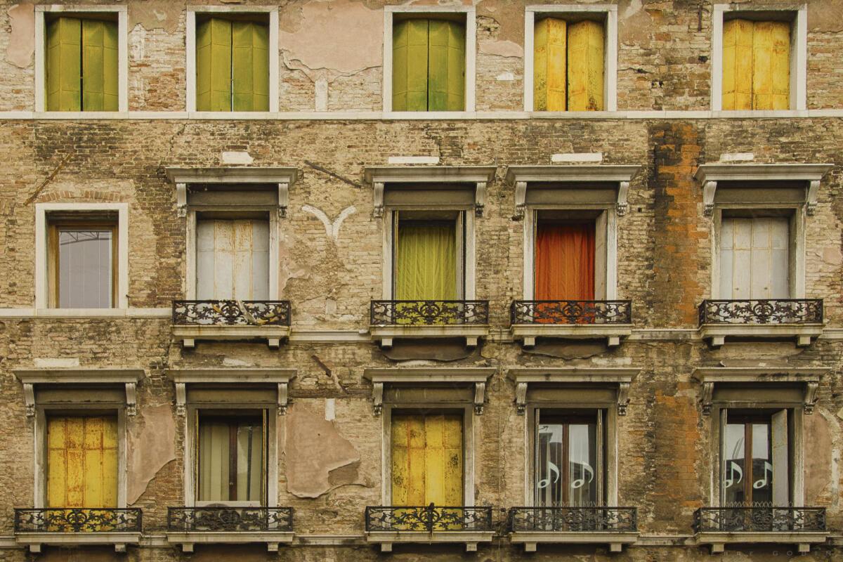 Venise - Fenêtres 7