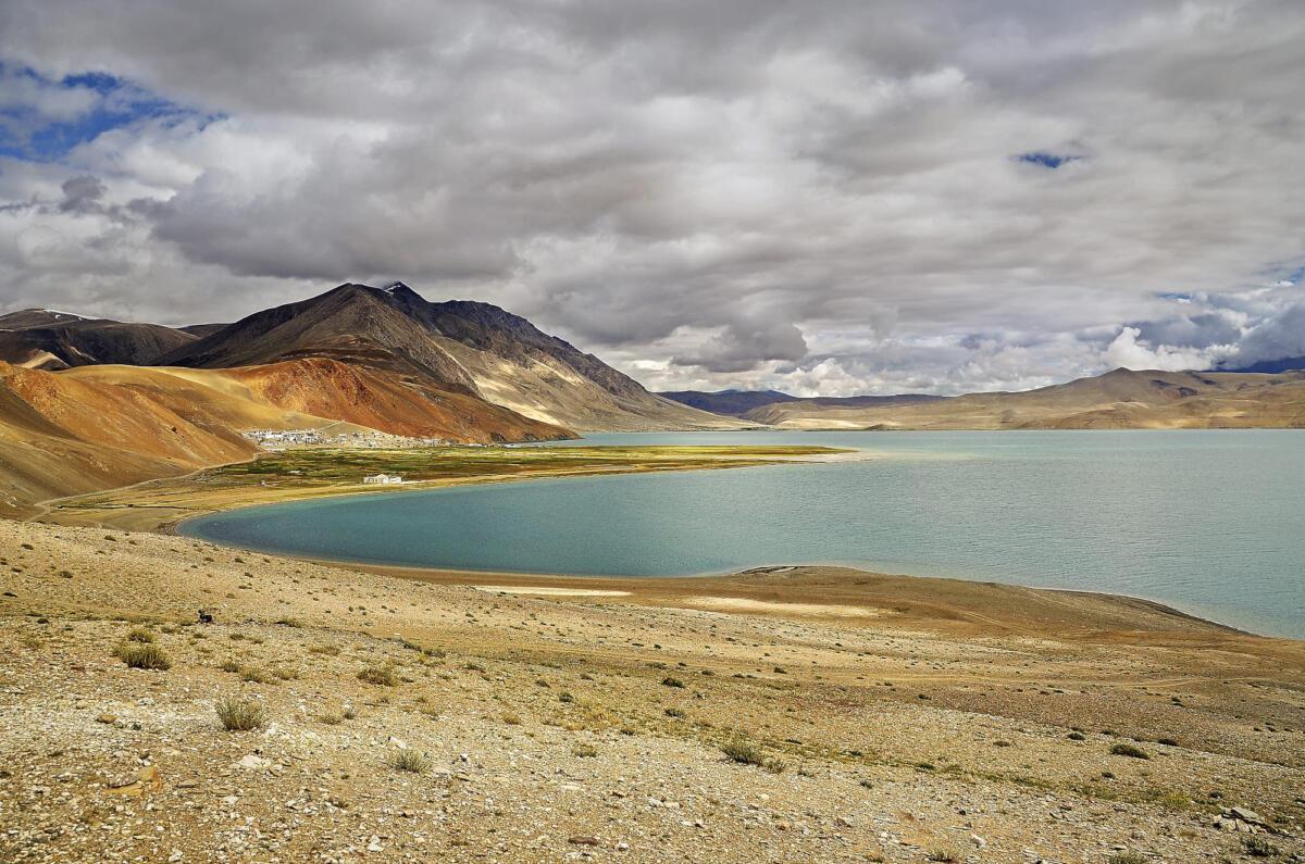 Himalaya  Lac de Tso Moriri 5000m